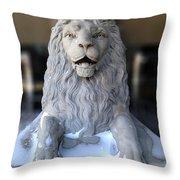 Center Street Lion Throw Pillow
