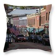 Central City  Throw Pillow