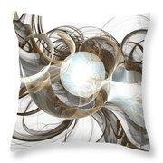 Central Core Throw Pillow