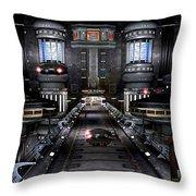 Central Dispatch Throw Pillow