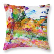 Central Ethiopia Throw Pillow
