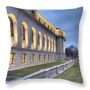 Central Library St. Louis Throw Pillow