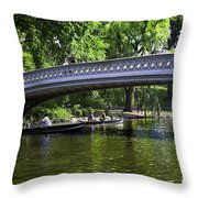 Central Park Day 2 Throw Pillow