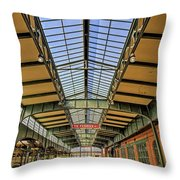Central Railroad Of New Jersey Crrnj Throw Pillow