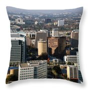 Central San Jose California Throw Pillow