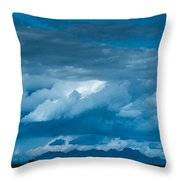 Central Valley Clouds Throw Pillow