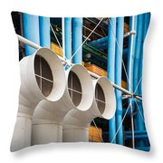 Centre Pompidou Throw Pillow