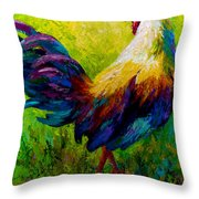 Ceo Of The Ranch Throw Pillow