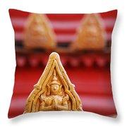 Ceramic Prayer Throw Pillow