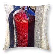 Ceramic Vase Throw Pillow