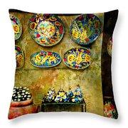 Ceramica Italiana Throw Pillow