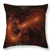 Cerberus Consumes Throw Pillow