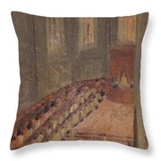 Ceremony Of Ordination At Lyon Cathedral Throw Pillow