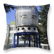 Cern Geneva Switzerland Throw Pillow