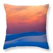 Cerulean Sands Throw Pillow