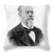 Cesare Lombroso Throw Pillow