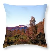 Cesars Head In The Fall Throw Pillow