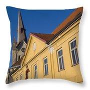 Cesis Latvia Throw Pillow