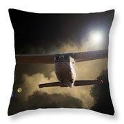 Cessna Fast Light Throw Pillow