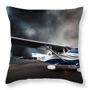 Cessna Ground Throw Pillow