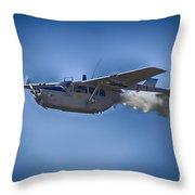 Cessna O-2a Skymaster Throw Pillow