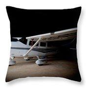 Cessna Waiting Throw Pillow