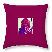 Chachi And Dot Throw Pillow
