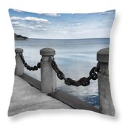 Chain Linked Throw Pillow