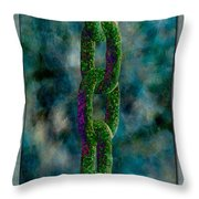 Chain Of Fools Throw Pillow