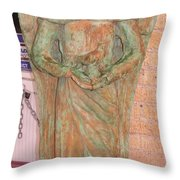 Chained Angel Throw Pillow