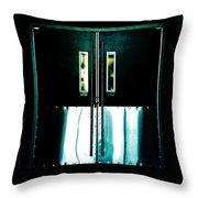 Chained Shut Throw Pillow