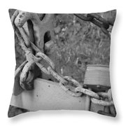 Chained Soul Throw Pillow