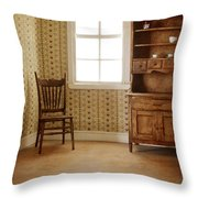 Chair And Cupboard Throw Pillow