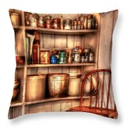 Chair - Chair In The Corner Throw Pillow