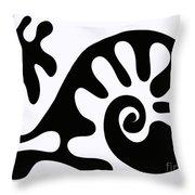Chair Design In Black. 2013 Throw Pillow