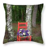 Chair Of The Grand Elf Throw Pillow