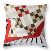 Chair Quilt            Brush Strokes Throw Pillow