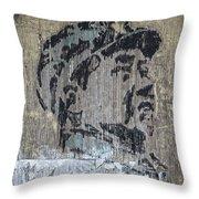 Chairman Mao Portrait Throw Pillow
