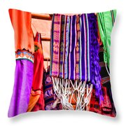 Chairs And Hammocks By Diana Sainz Throw Pillow