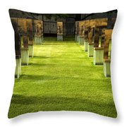 Chairs And Memories Throw Pillow
