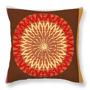 Chakra Mandala With Crystal Stone Healing Energy Plates By Side  Navinjoshi Rights Managed Images Fo Throw Pillow