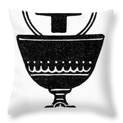 Chalice And Cross Throw Pillow