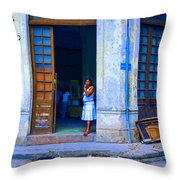 Challenge 15 Number 5 Throw Pillow