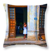 Challenge 15 Number 6 Throw Pillow