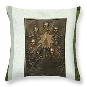 Challenger Monument Throw Pillow