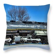 Challenger Panoramic 02 Throw Pillow