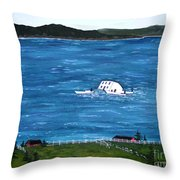 Challenges Throw Pillow