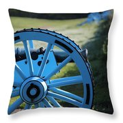 Chalmette Battlefield Throw Pillow