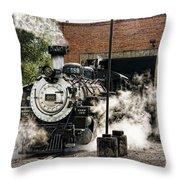 Chama Steam Throw Pillow