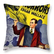 Chamber Of Horrors Throw Pillow